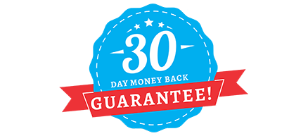 30 day Money Back Gurrantee