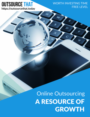 Online Outsourcing - A Resource of Growth