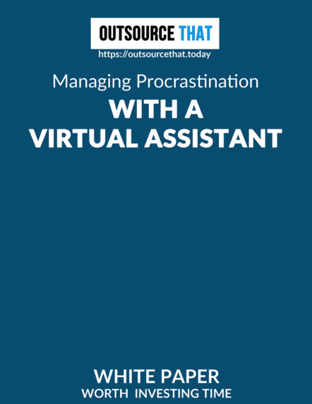 Managing Procrastination with a Virtual Assistant