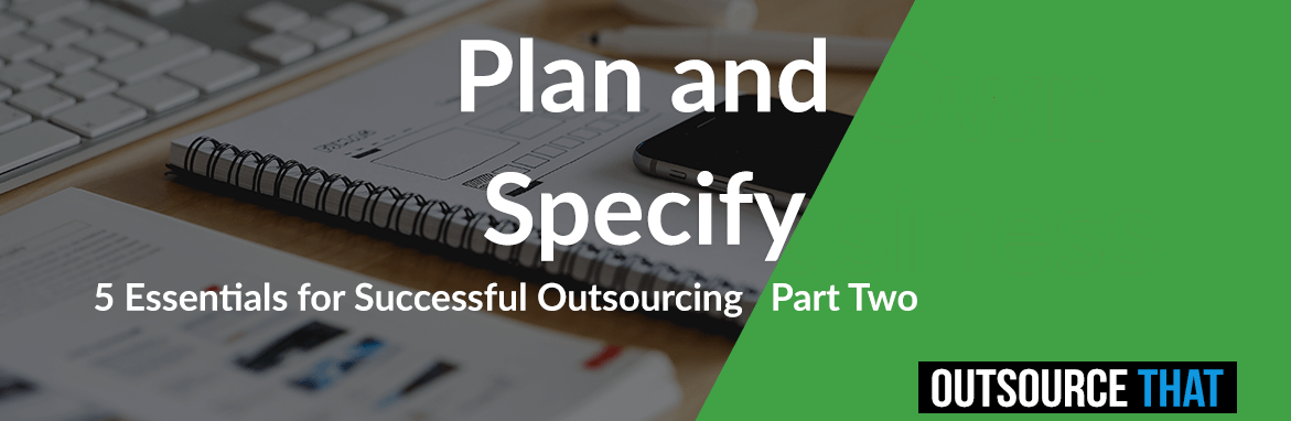 Plan and Specify